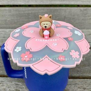 🌸NEW🌸Starbucks Bear Cherry Blossom Mug Cover